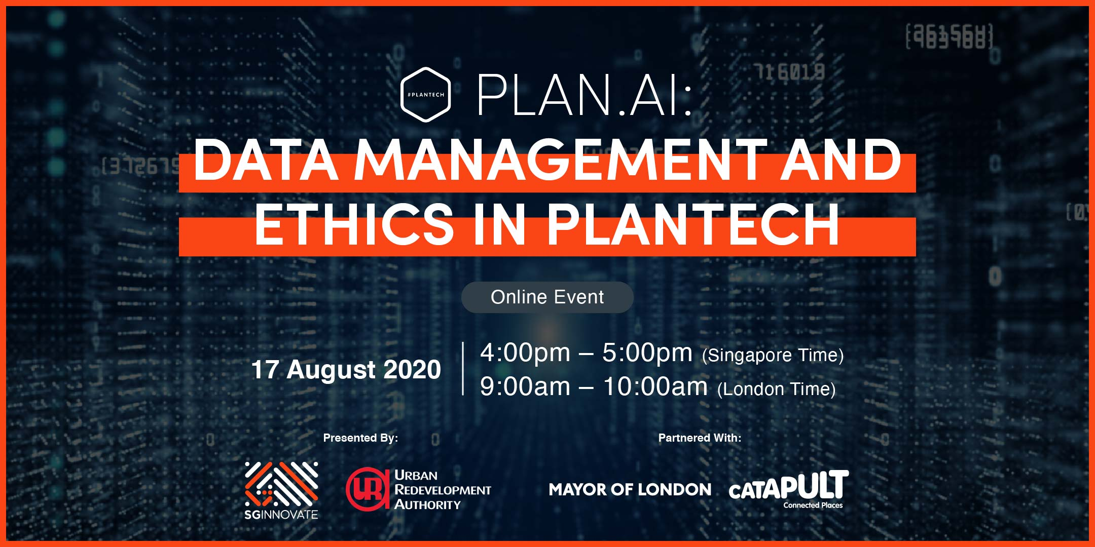 Data Management and Ethics in PlanTech